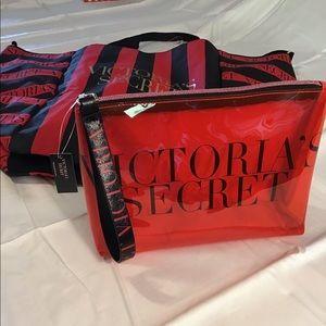 2019 Victoria's Secret Bombshell tote& bag set